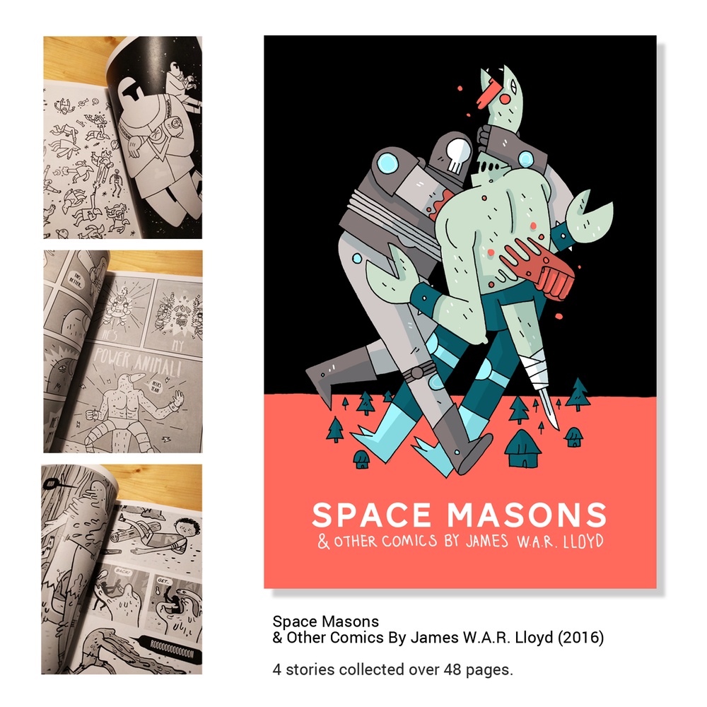Space Masons & Other Comics