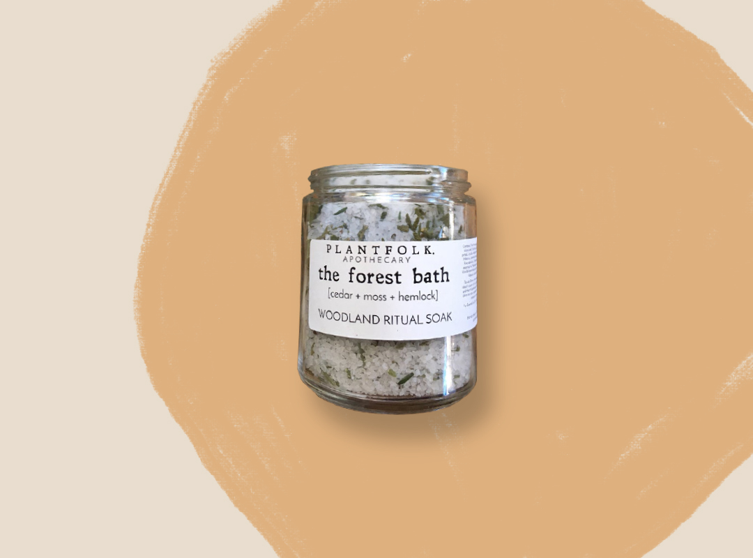 The Forest Bath/Woodland Ritual Soak by Plankfolk Apothecary