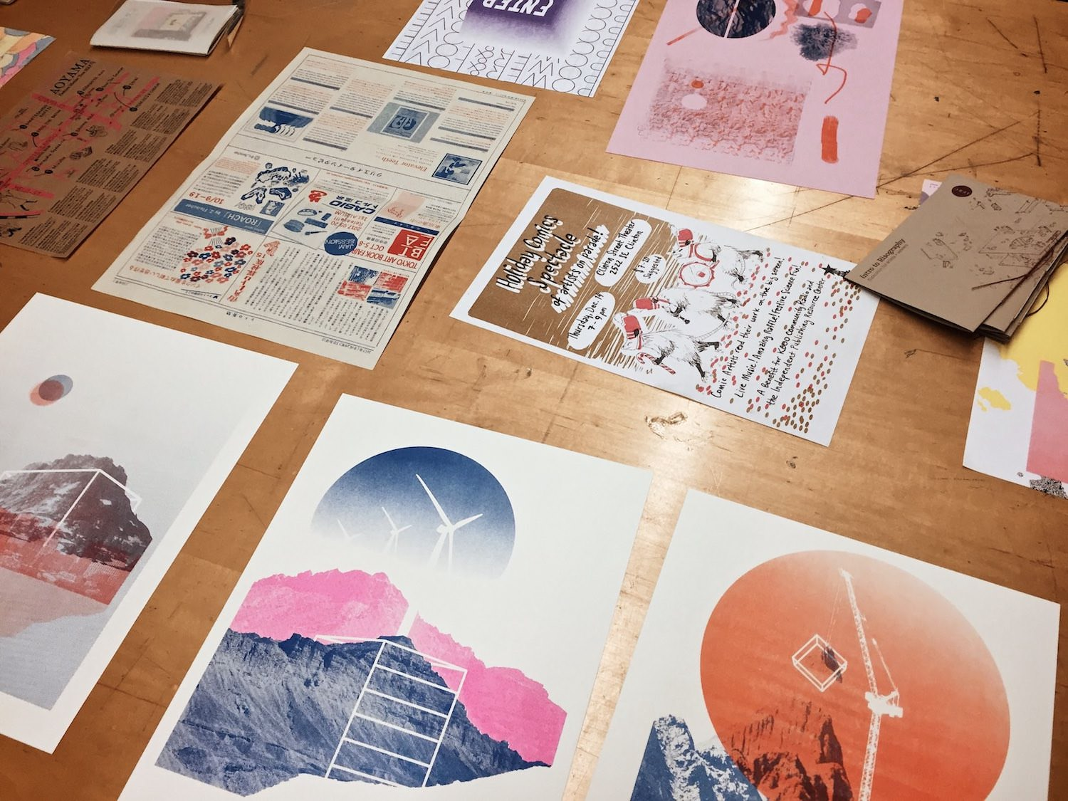 Risograph Print Examples