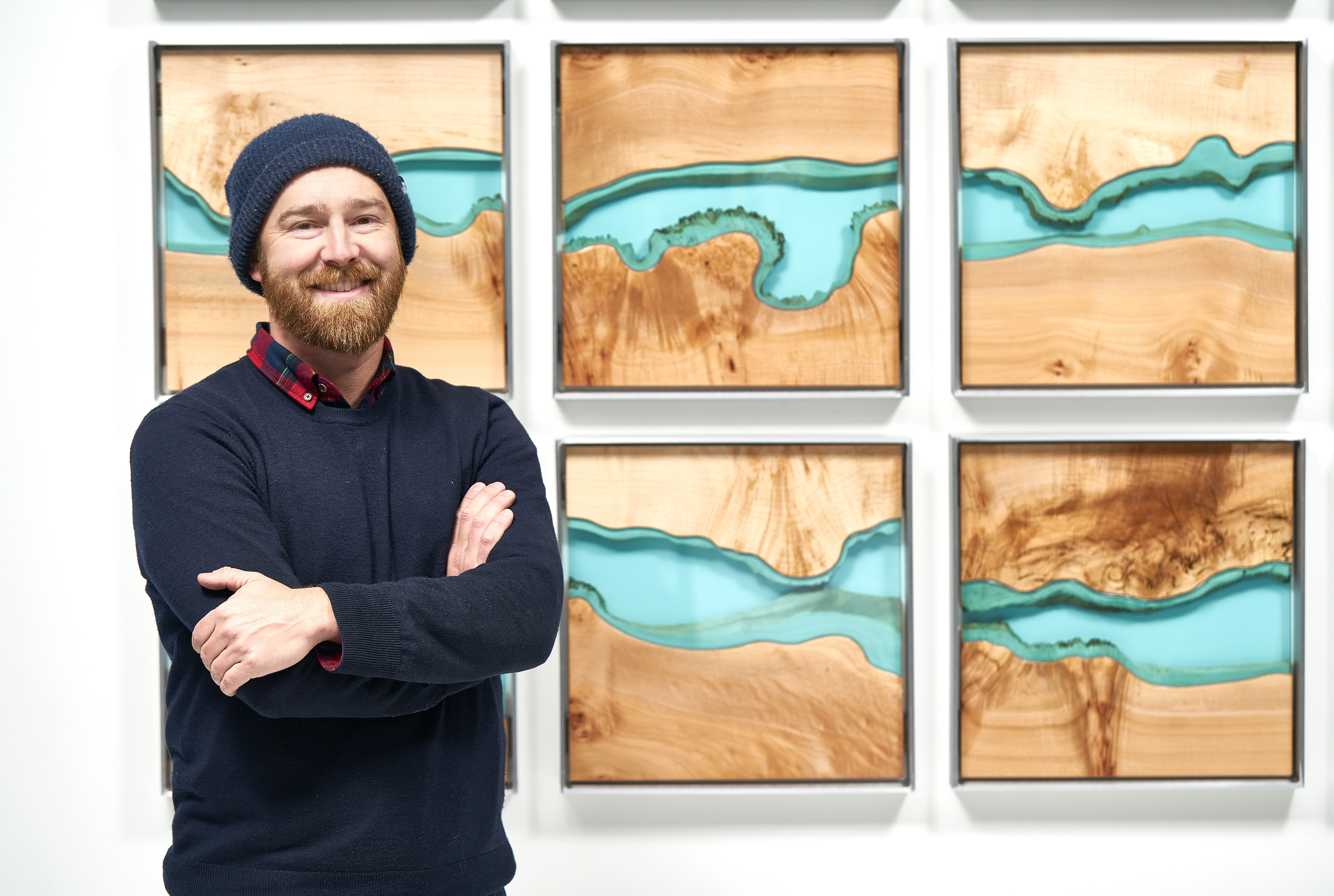 River Mural.Greg Klassen - Greg Klassen