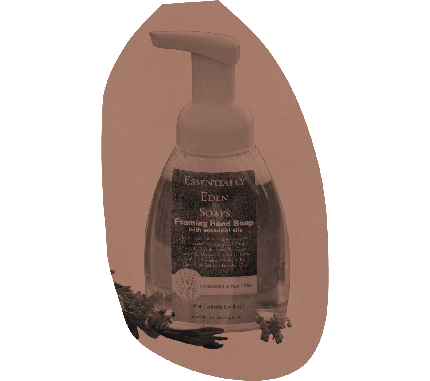 Foaming Hand Soap, Essentially Eden Soaps