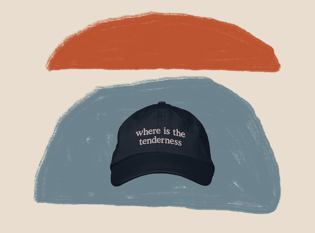 Where is the Tenderness Embroidered Hat by Cool Try