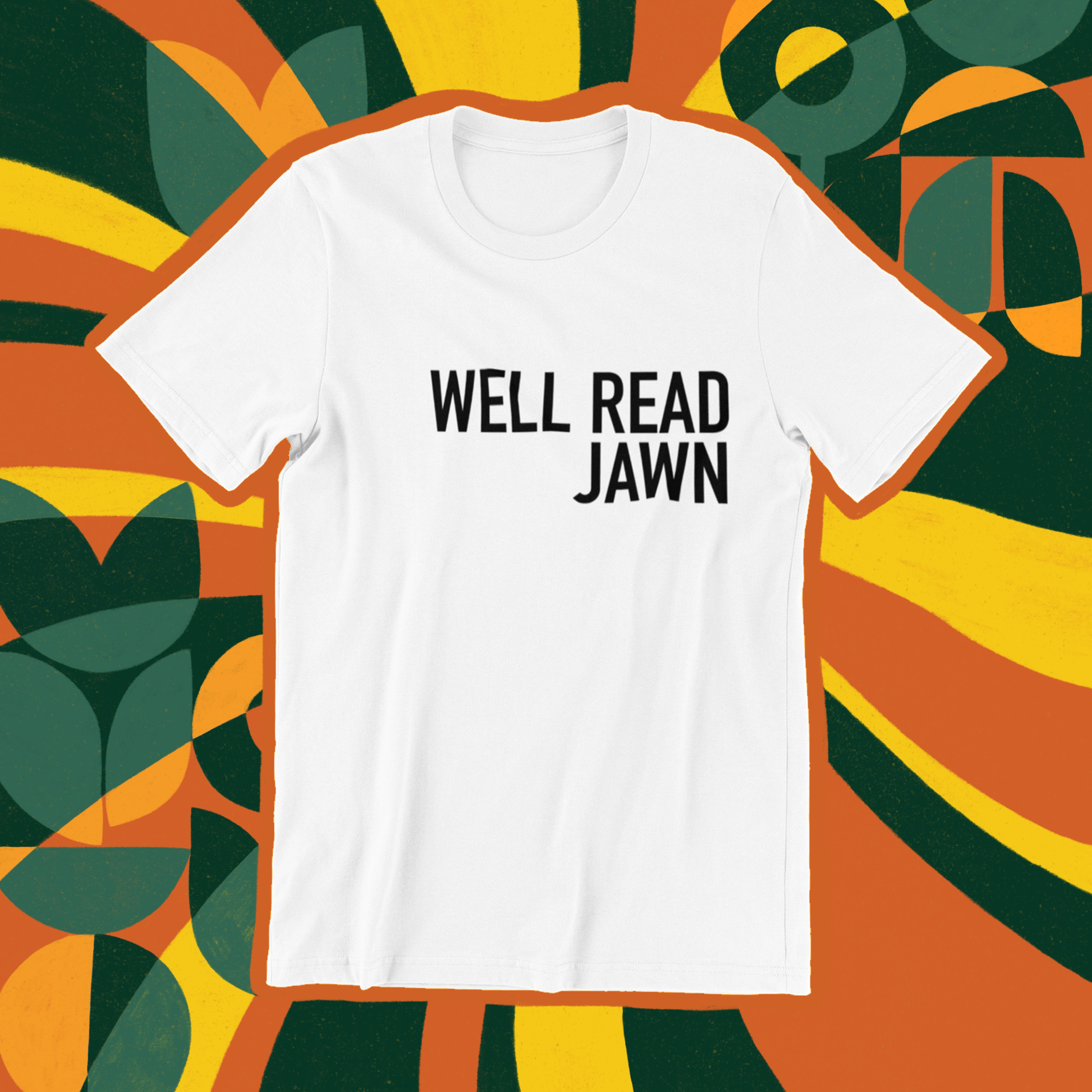 Well Read Jawn tee
