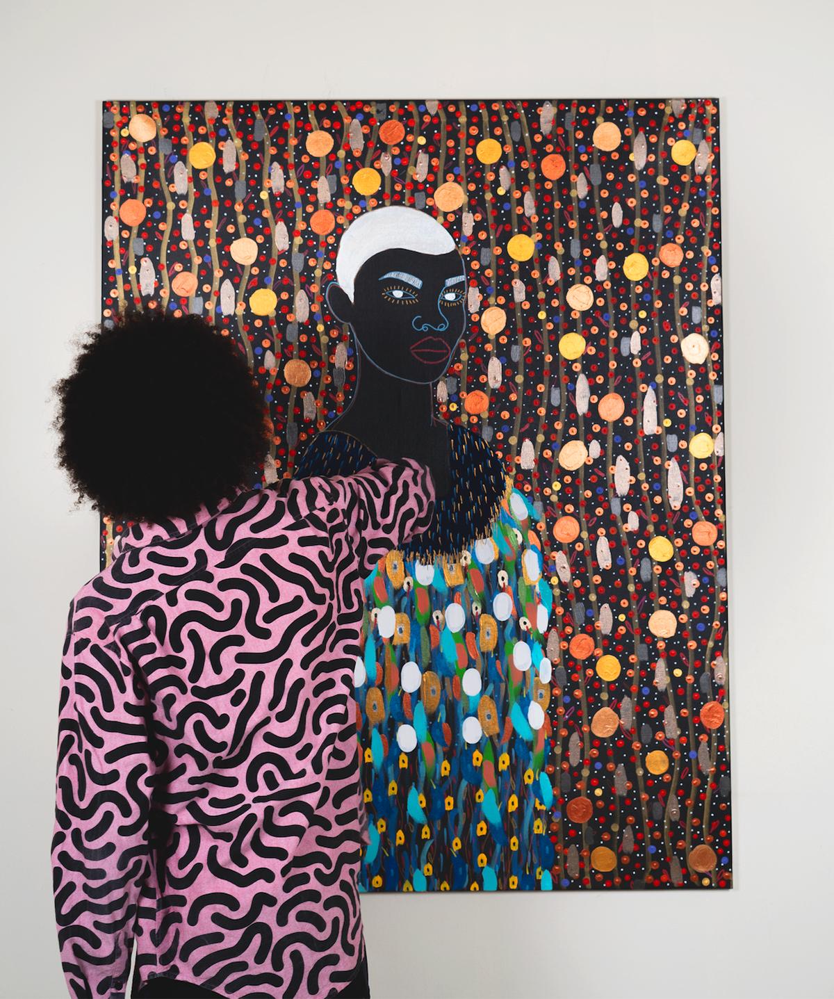 afro - Yermine Richardson