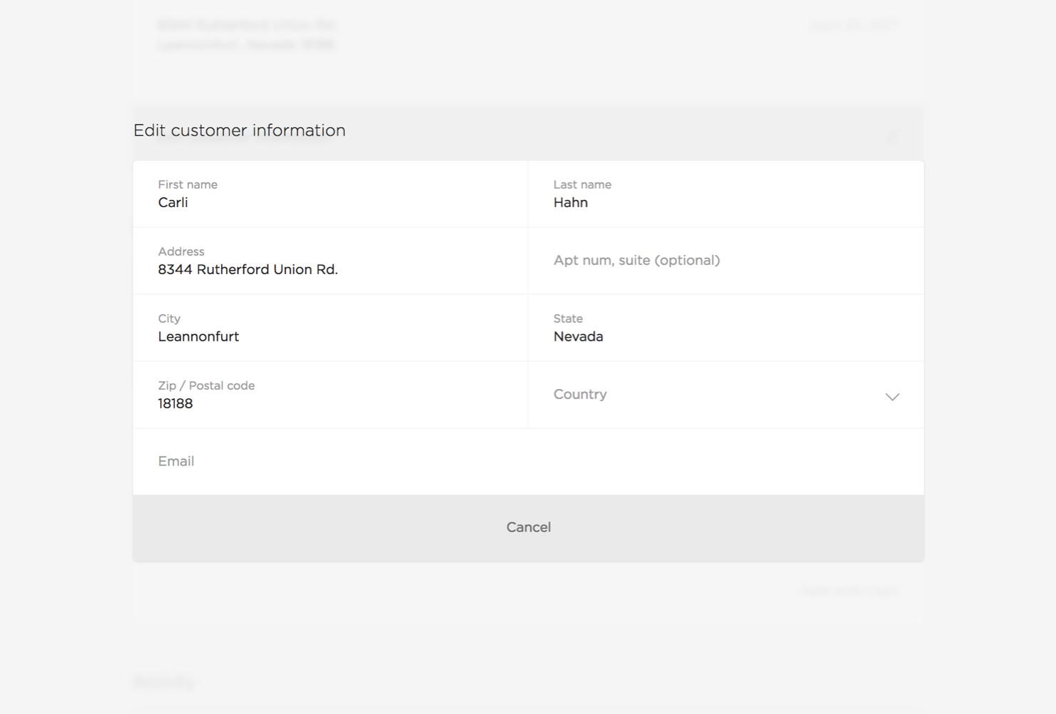 order-customer-info