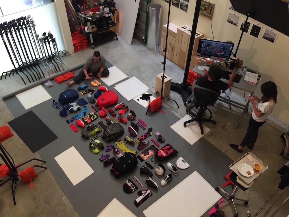 Jim Golden behind the scenes