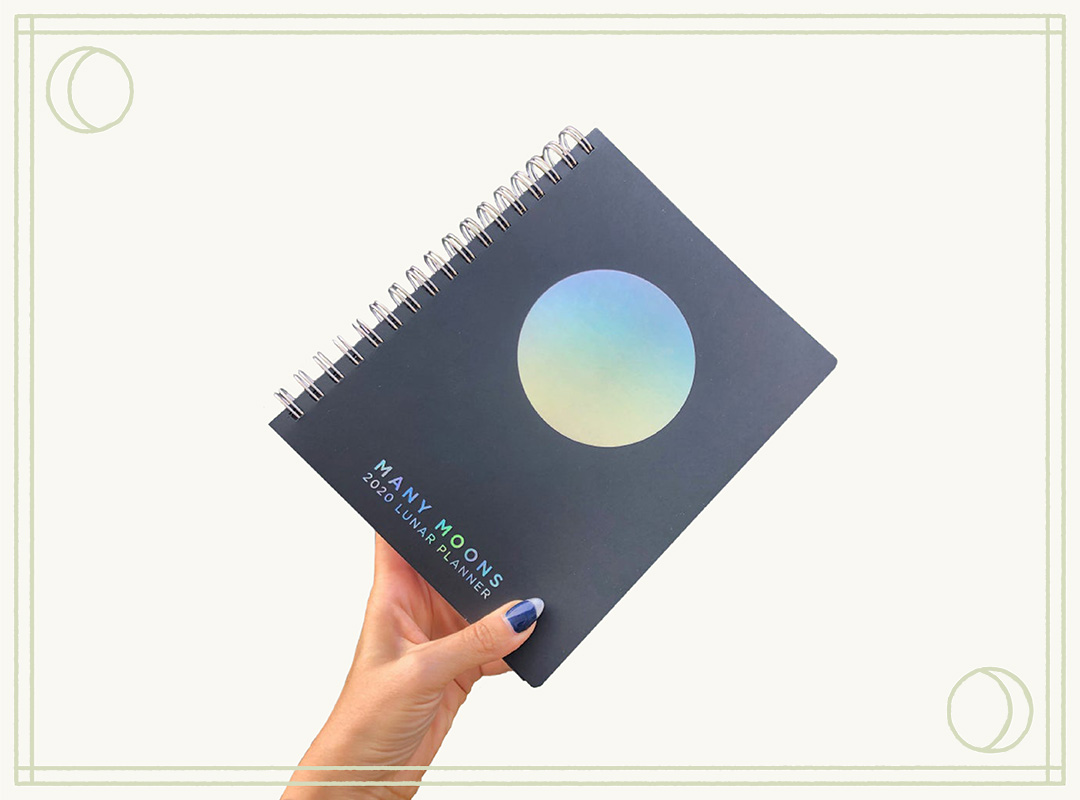 Many Moons Lunar Planner 2020 by Modern Women