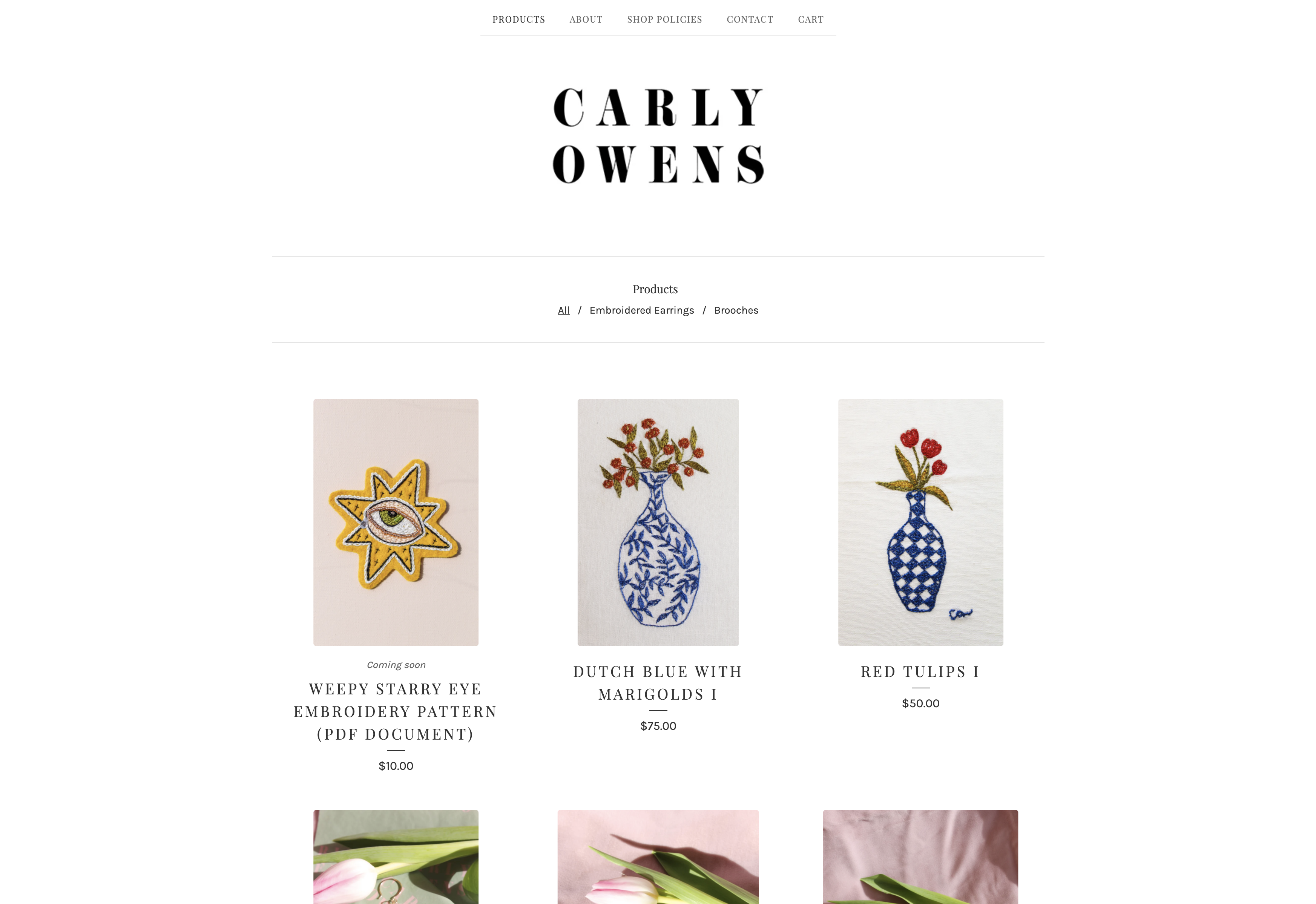 Carly Owens Shop 1