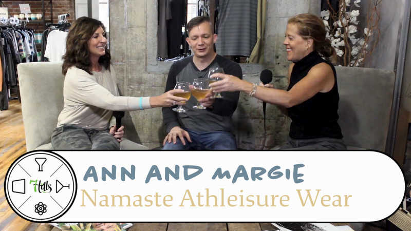 Ann and Margie of Namaste Athleisure Wear, Kombucha