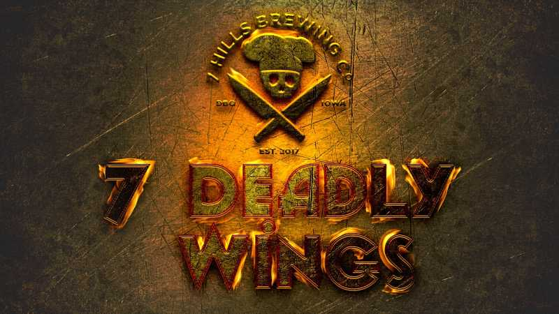 7 Deadly Wings Challenge with Chef Ivo