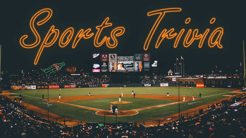 Sports Trivia Wednesday July 15 2020