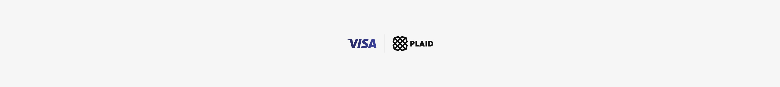 Plaid is joining Visa banner