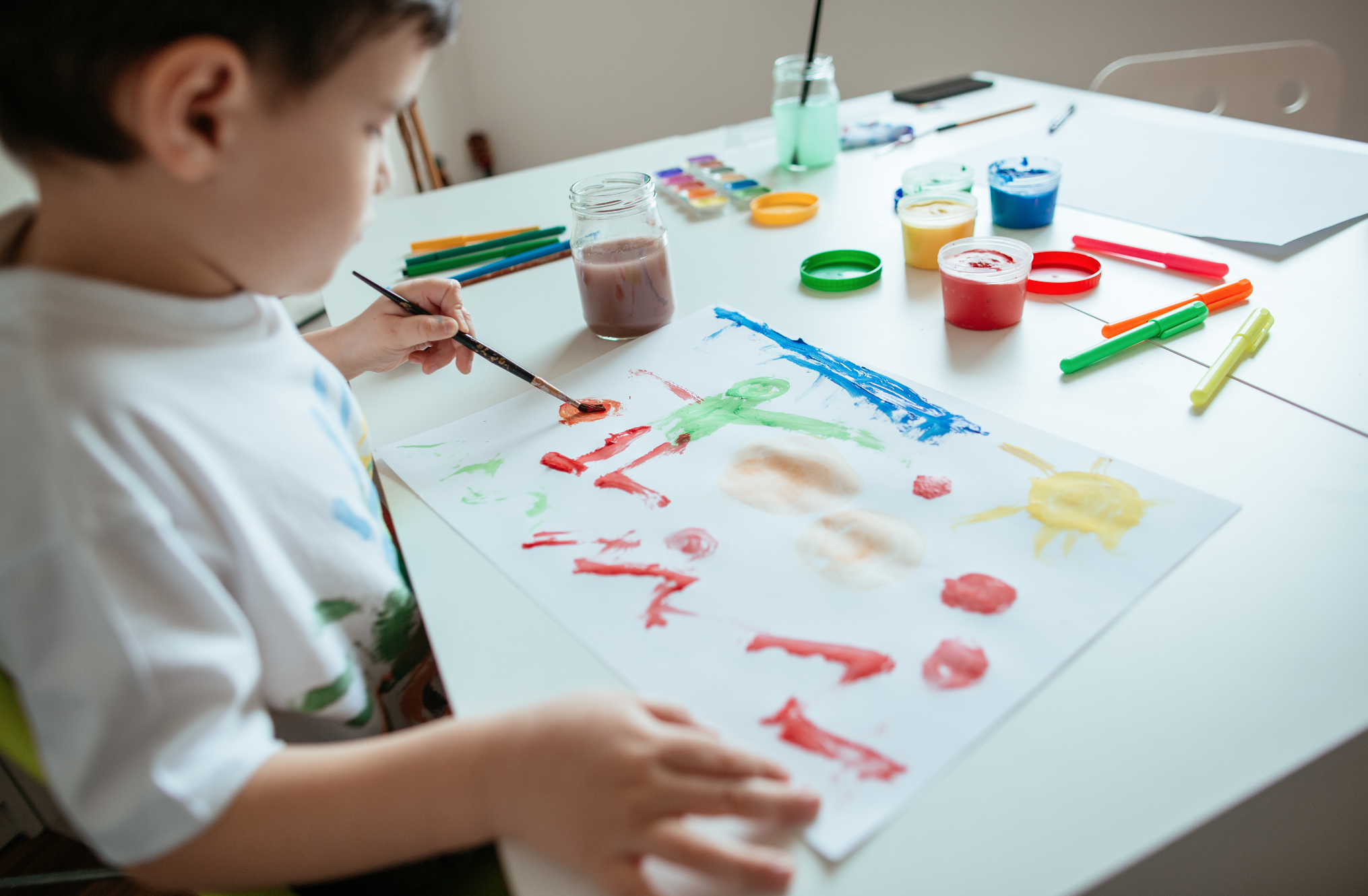creative activities while unschooling