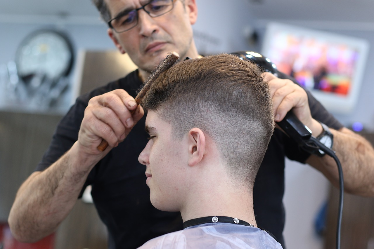 Haircut tips for autistic children