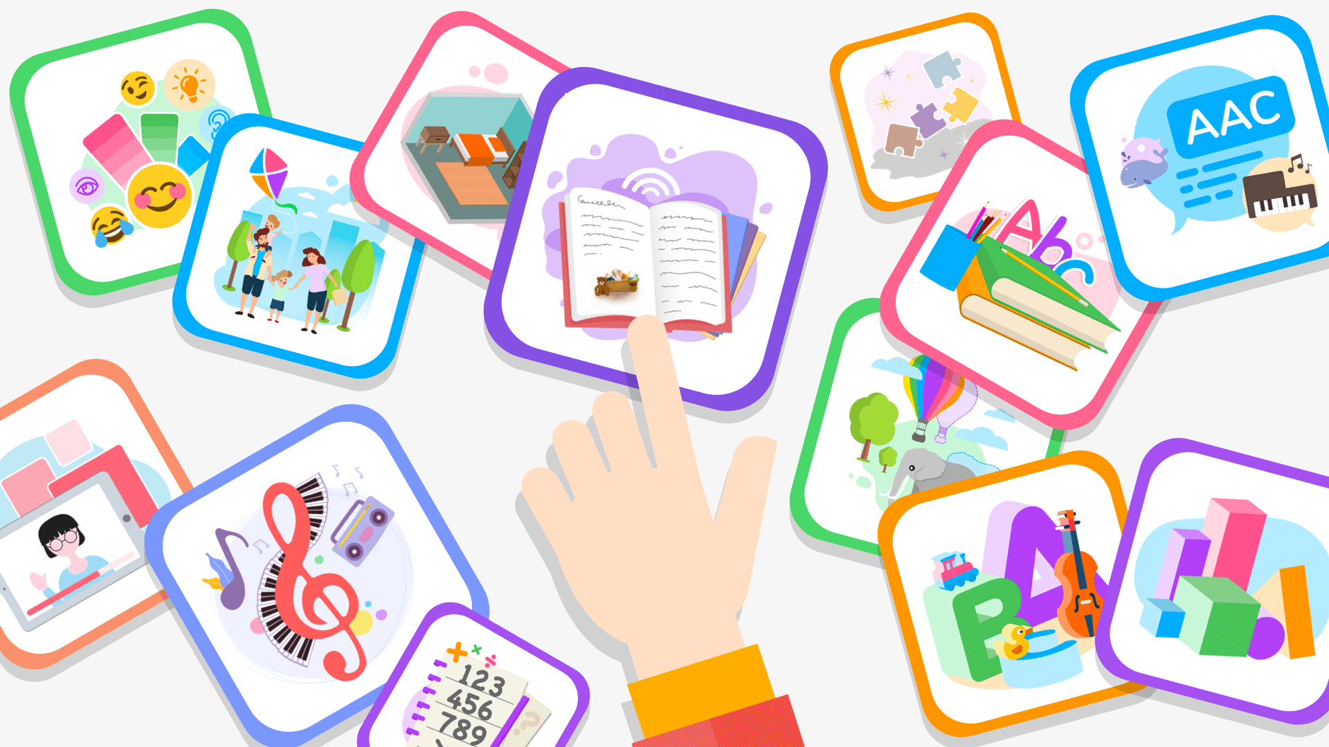 Educational Game Categories in Otsimo | Special Education