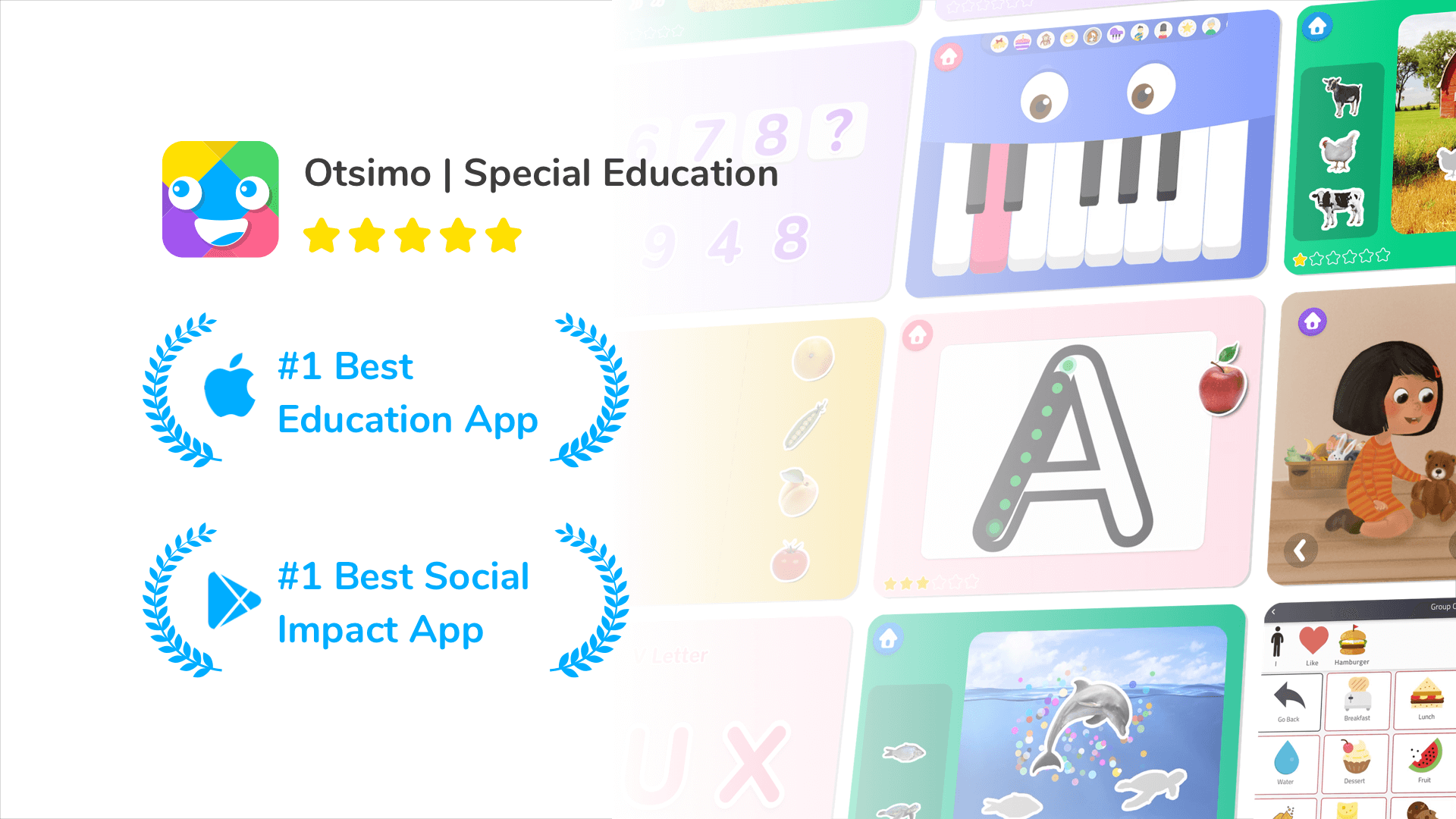 Best Special Education app Otsimo | Google & Apple