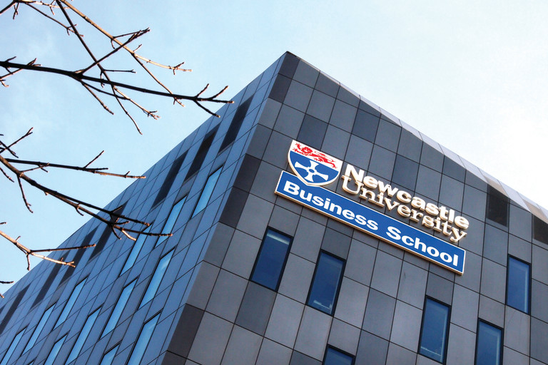 Newcastle University Business School is a short walk from the Learning and Teaching Centre