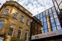 Intu Eldon shopping center