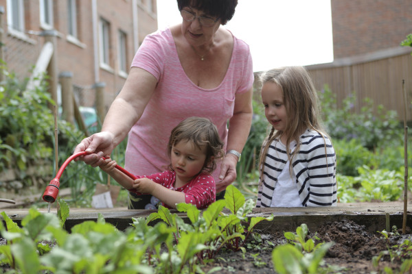 Space to grow: community gardens and allotments