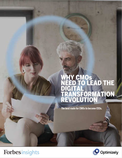 Why CMOs Need to Lead Digital Transformation