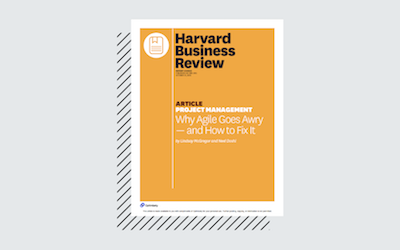 Harvard Business Review  -  Why Agile Goes Wrong & How to Fix It