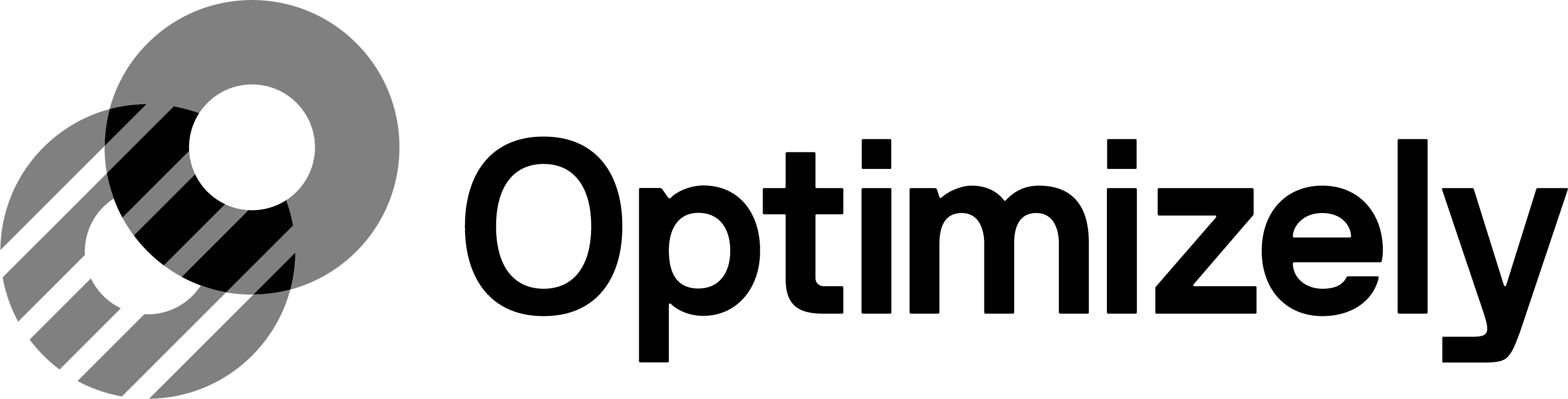 Optimizely Logo Grayscale (Dark)