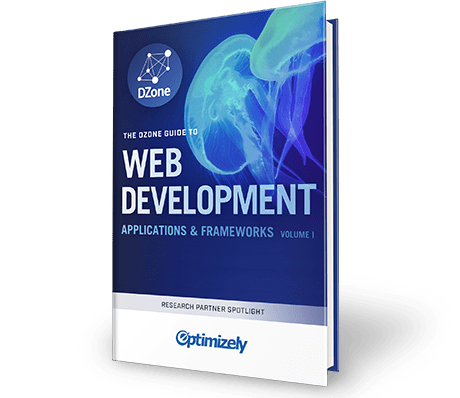 The DZone Guide to Web Development