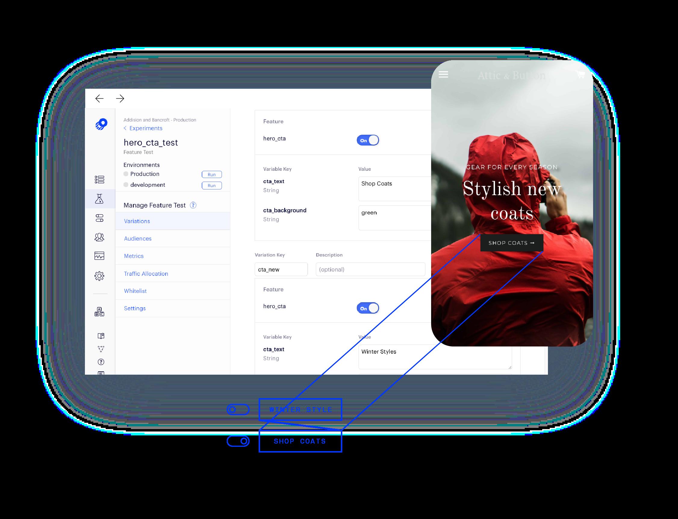 Platform Page Full stack UI