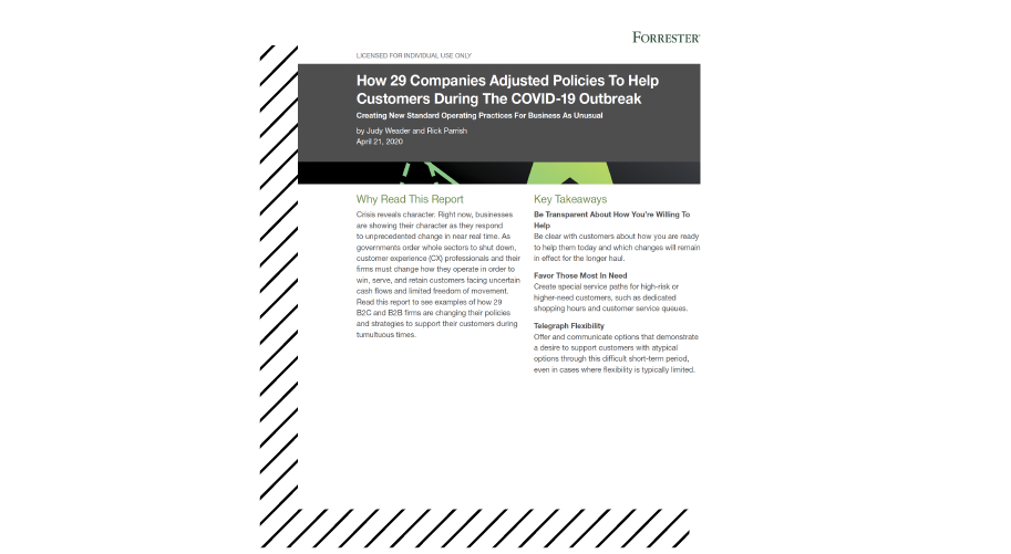 How 29 Companies Adjusted Policies To Help Customers During The COVID-19 Outbreak