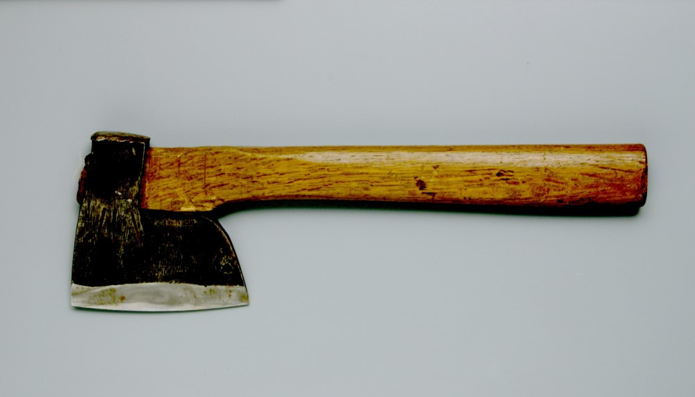 Tools for Logging: Broadaxes. Collection of Takenaka Carpentry Tools Museum