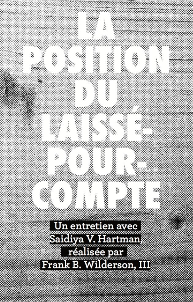 Cover Image for La position du laissé-pour-compte