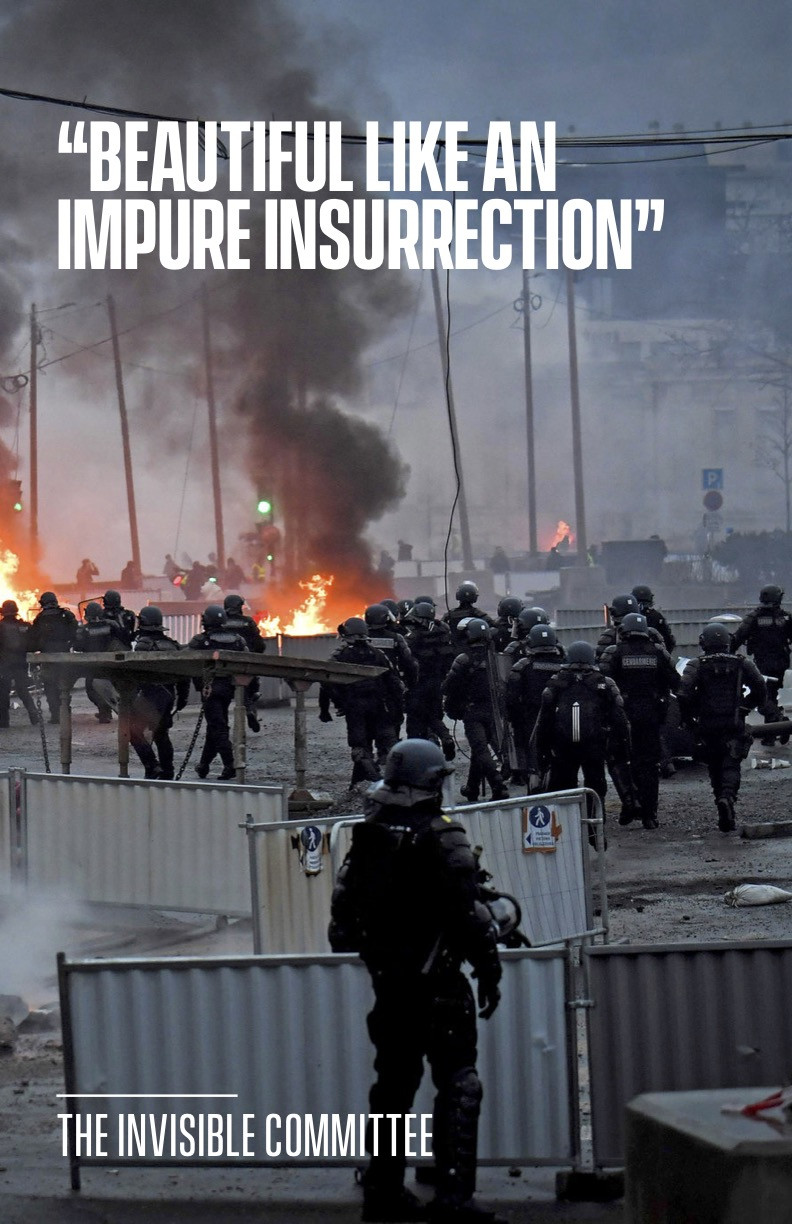 """Cover Image for """"Beautiful Like an Impure Insurrection"""""""