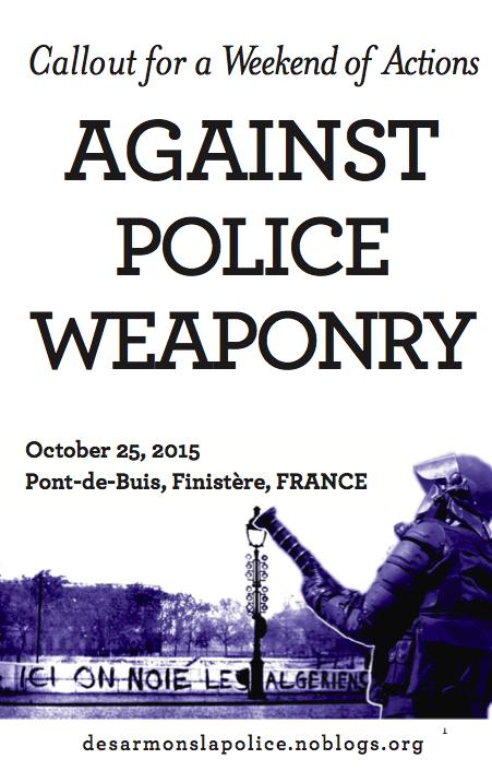 Cover Image for Callout for a Weekend of Actions Against Police Weaponry