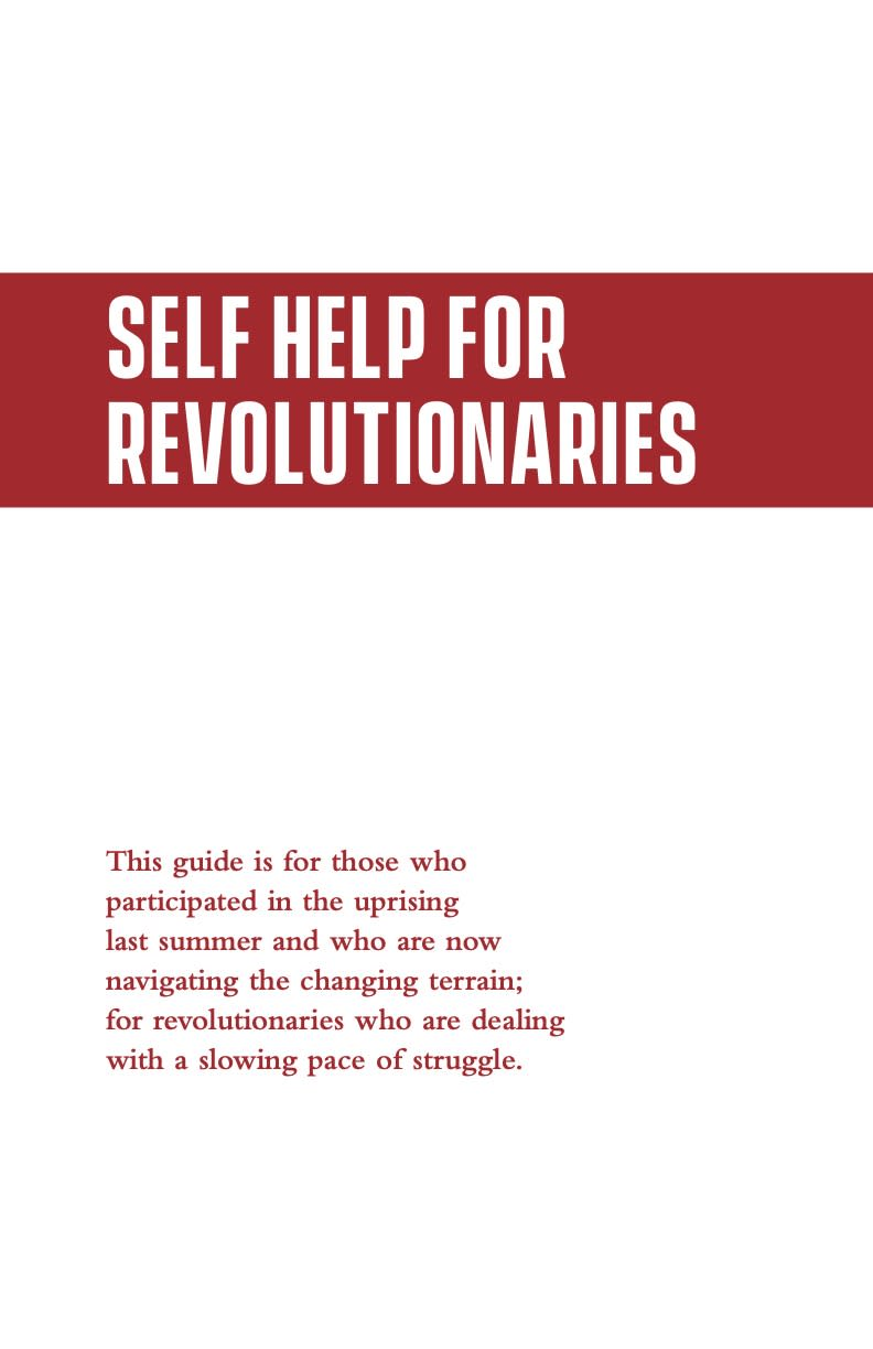 Cover Image for Self-Help for Revolutionaries