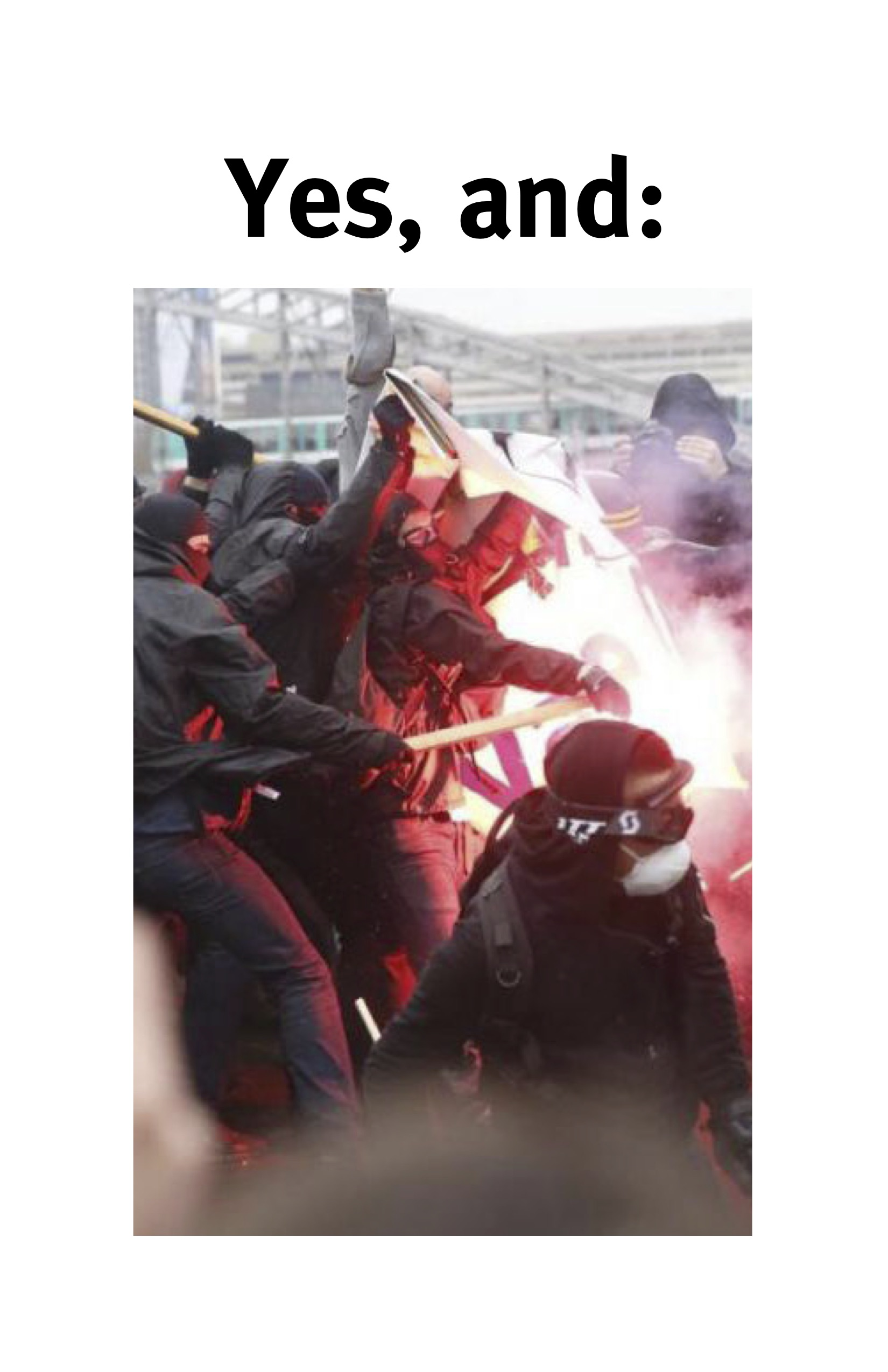 Cover Image for Yes, And: Results from the North American Contagious Antagonisms Inquiry