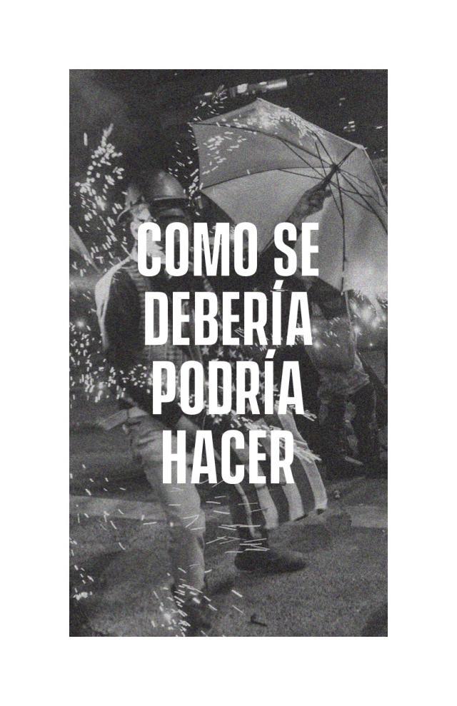 Cover Image for Como Se Debería Podría Hacer